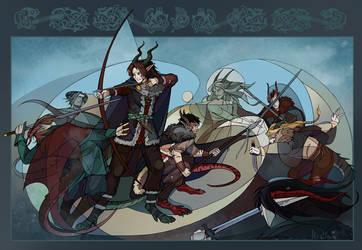 Sworn brothers by AlexandrFaolchu