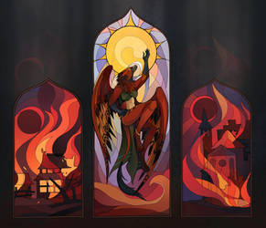 Fire of destruction and fire of creation