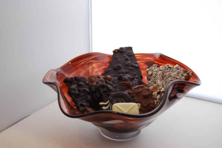 chocolat fluted bowl by incongruous-demon