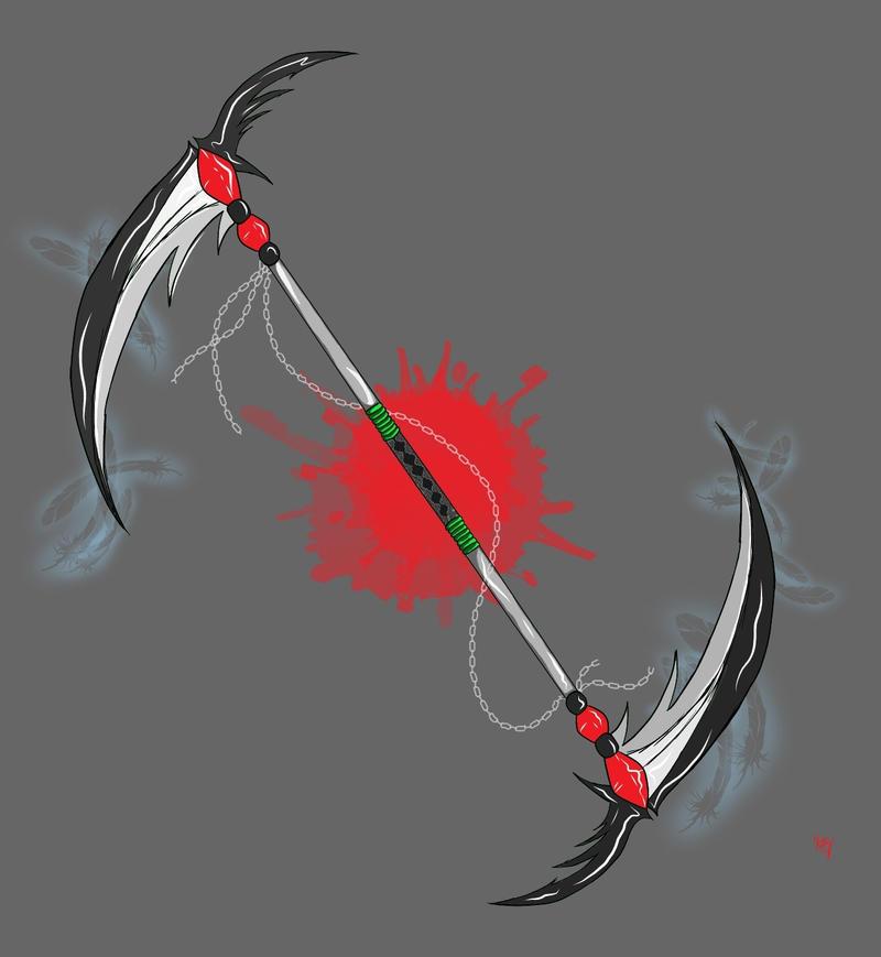 Maka's Weapon Form by MissKittyLee on DeviantArt