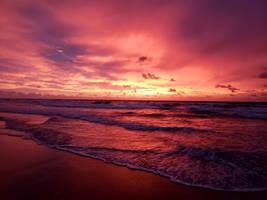Red Morning Sunrise