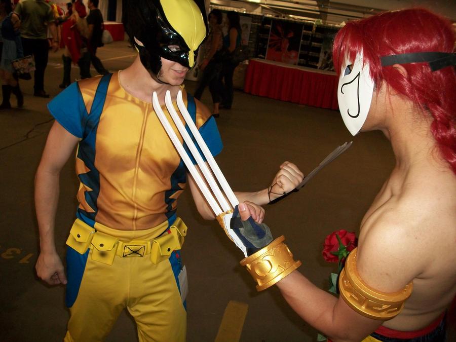 Vega vs Wolverine by Psycho-Vega