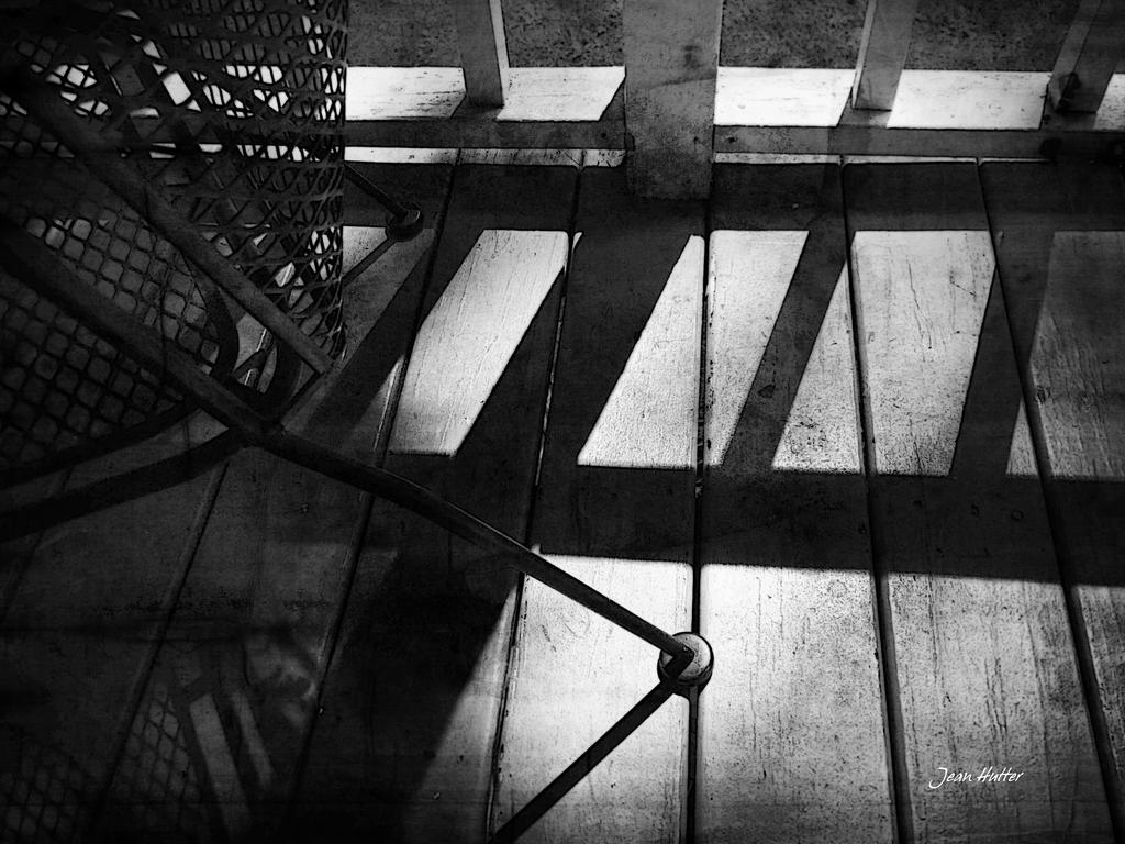 Porch Shadows by jhutter