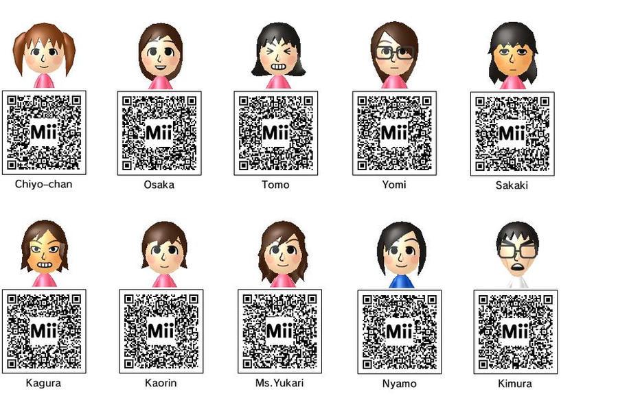 Anime Mii Characters 3ds : Azumanga daioh ds miis by tobifan on deviantart