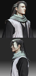 3D Kuchiki Byakuya by Konartist3D