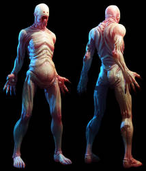 Pale Man by Konartist3D