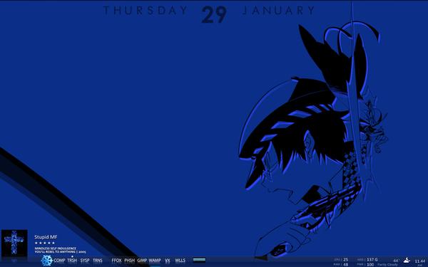 Desktop: Naoto by melkino