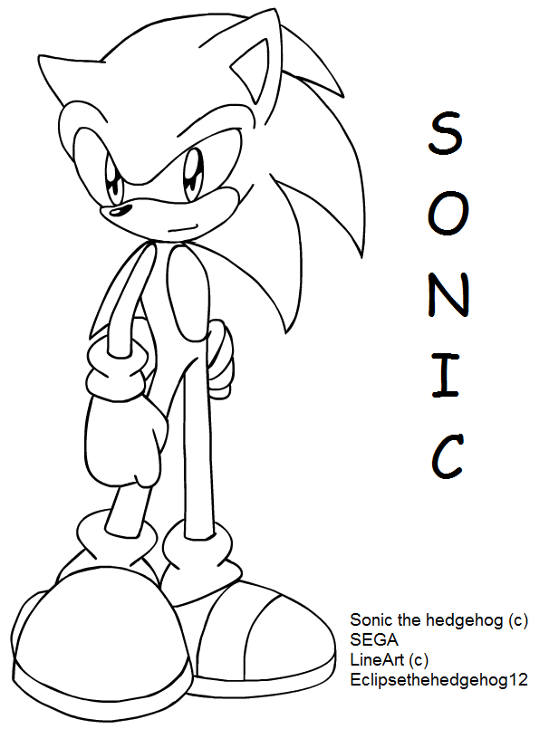 colour meh sonic by eclipsethehedgehog12 on deviantart - Sonic Pictures To Colour