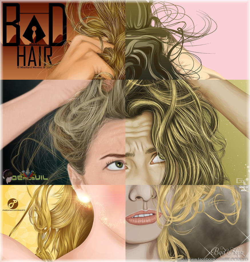 Bad Hair Collab by yanski19