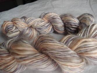 Peachy silk