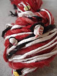 Sushi handspun art yarn