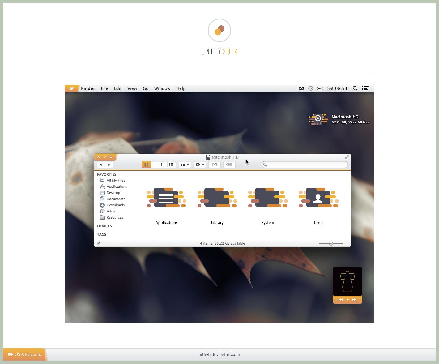 Unity 2014 OSX by Nittiyh