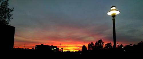 Sunset Spot: Sky Fire by LordPint