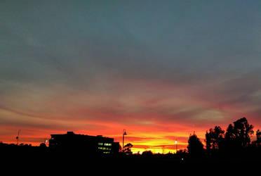 Sunset Spot: Sky Fire (1) by LordPint