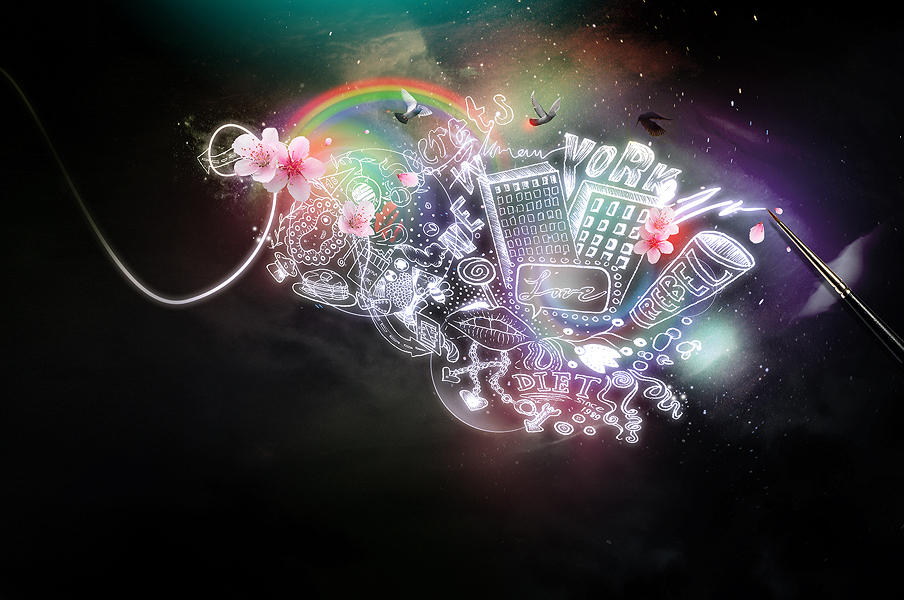 Magic Paint by digitalshock