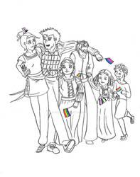 Travelers Pride by jesterbells