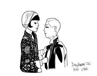 Drawlloween 26: Huli Jing