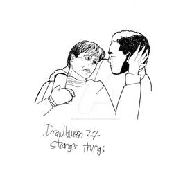 Drawlloween 27: Stranger Things
