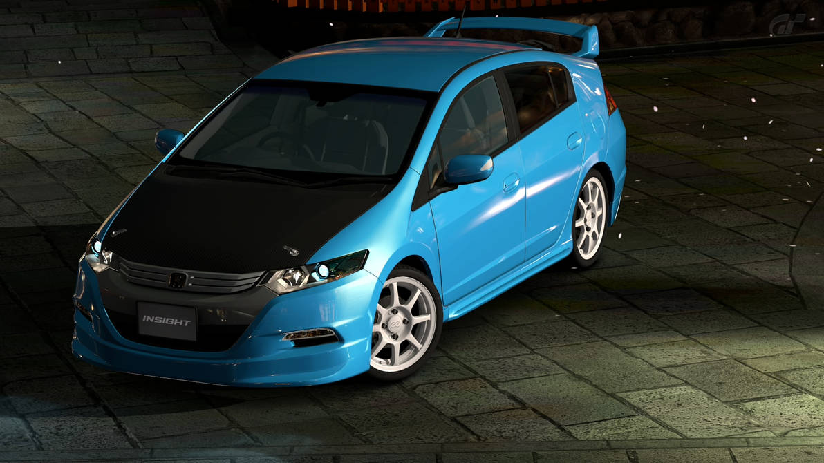 Honda Insight Custom 2 By Nightmareracer85