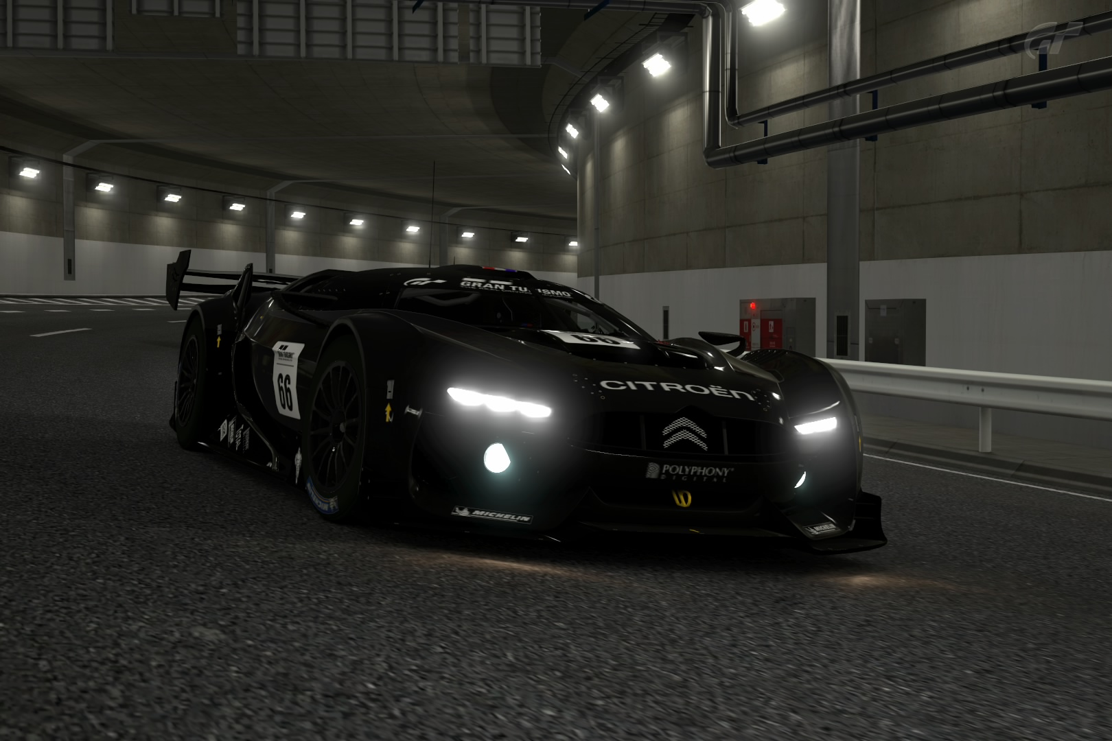 Gt Race Car At Night By On Deviantart