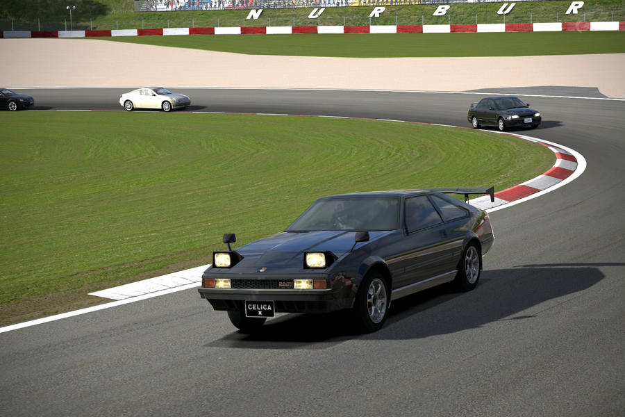 Racing a Celica2 by NightmareRacer85