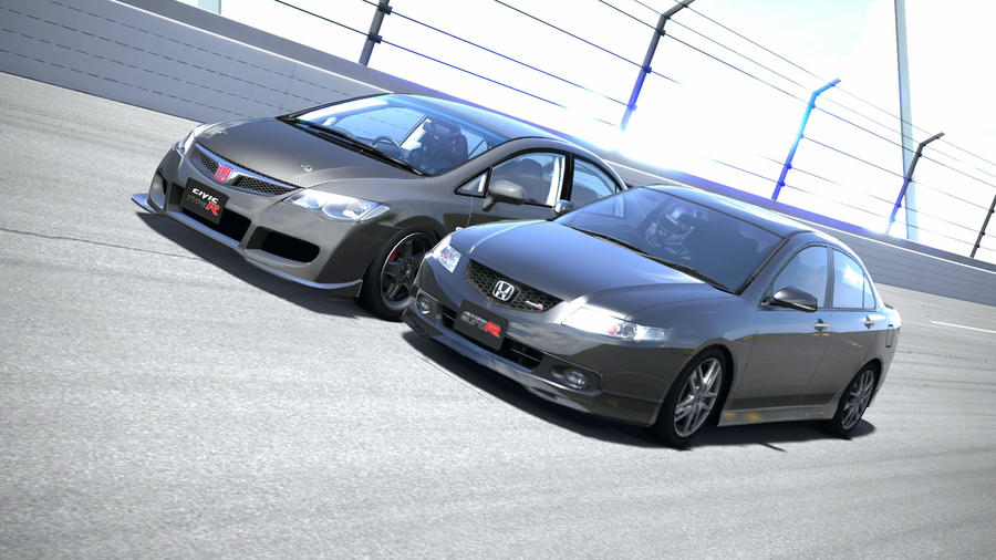 Civic Vs Accord by NightmareRacer85 on DeviantArt