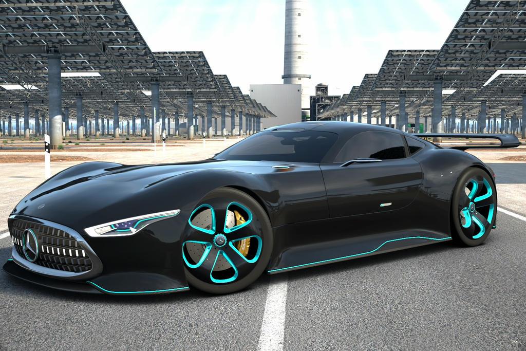 Mercedes Benz VGT at Gemasolar by NightmareRacer85