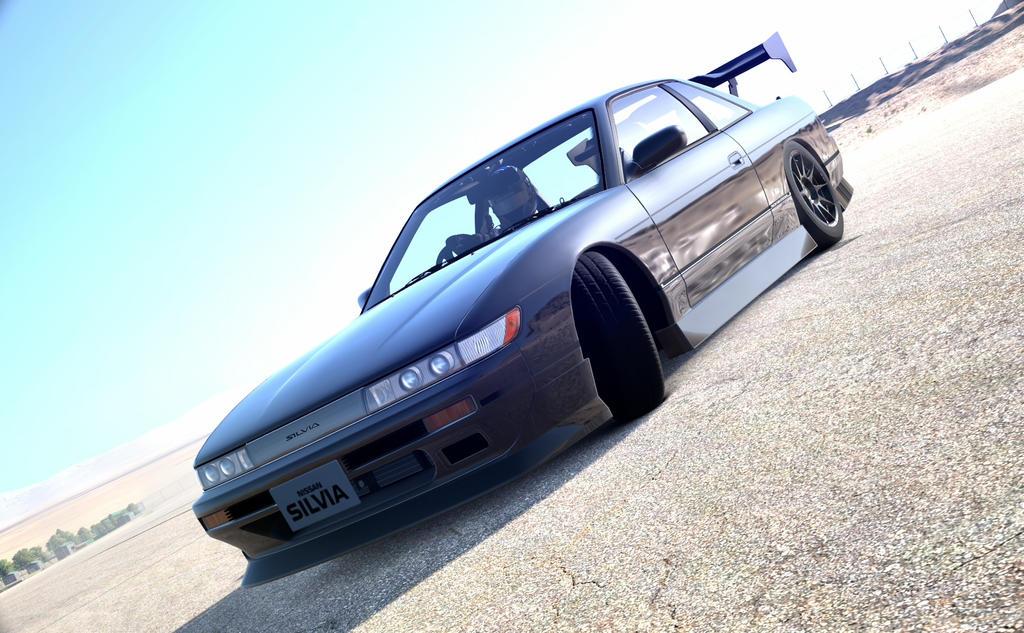 Silvia S13 Drifting by NightmareRacer85