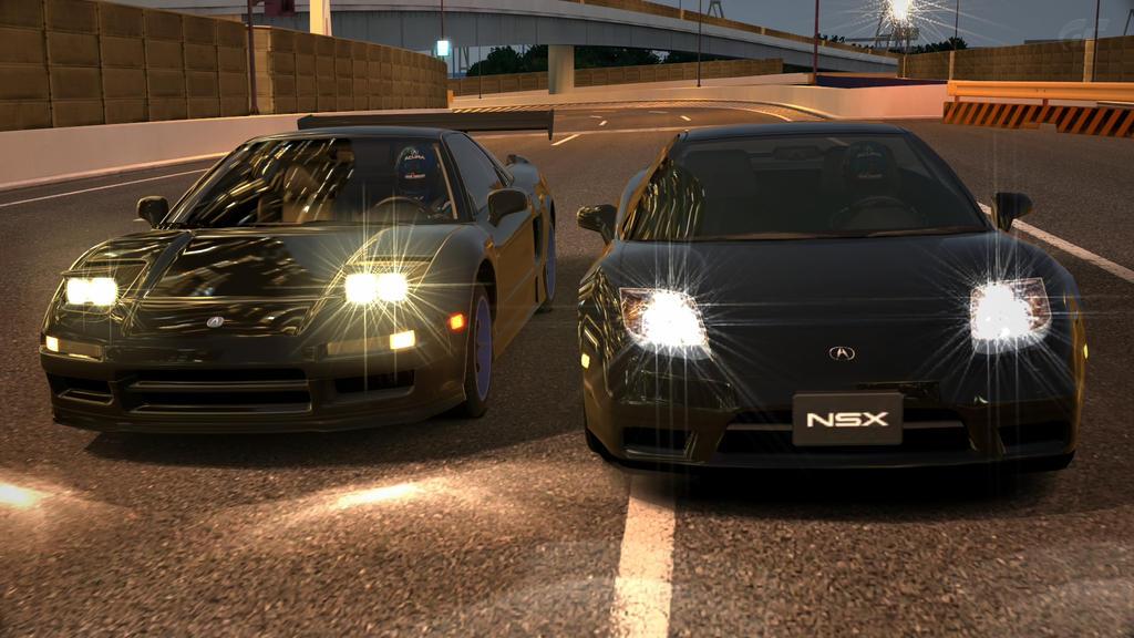 2 Black Acura NSX 2 by NightmareRacer85