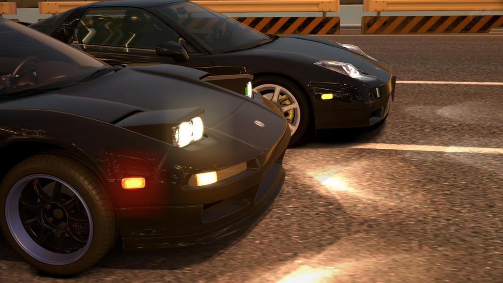 2 Black Acura NSX by NightmareRacer85