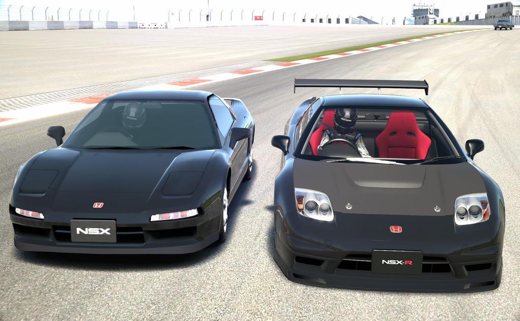 2 Black NSX type R by NightmareRacer85