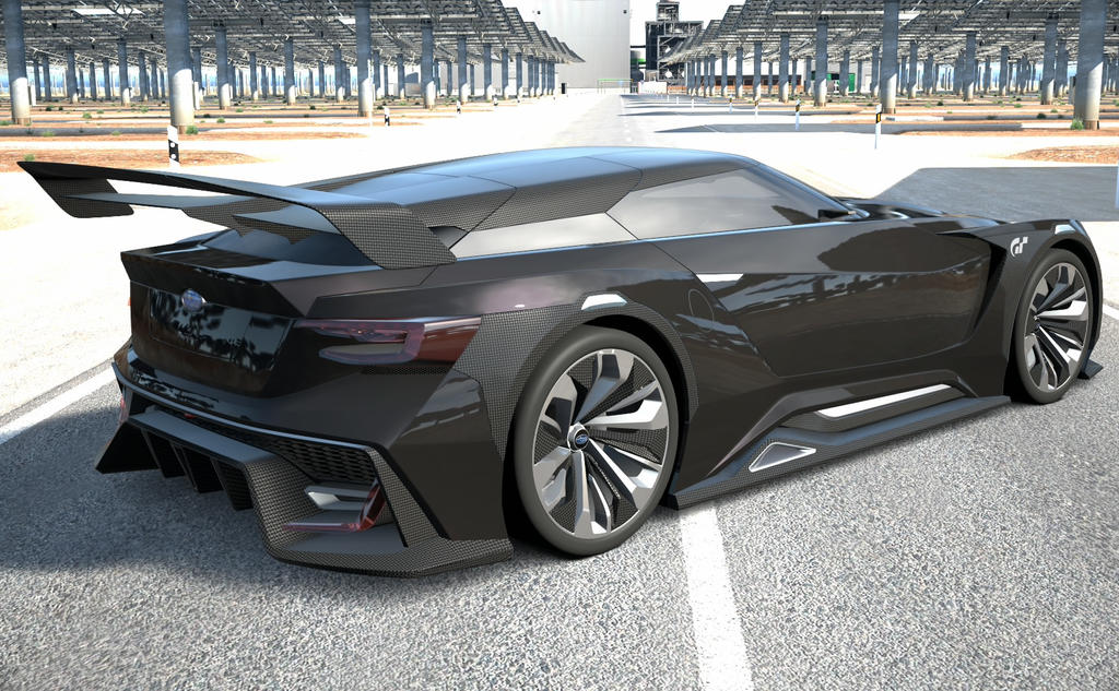 Subaru Viziv Vision GT 2 by NightmareRacer85
