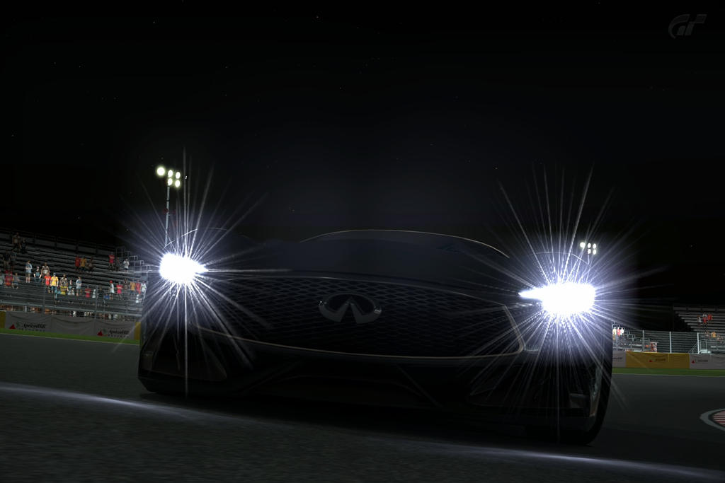 Infiniti Concept Vision GT at Night by NightmareRacer85