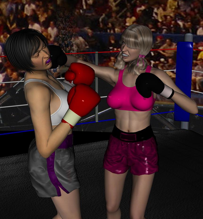 Heather vs Kaoru by NightmareRacer85