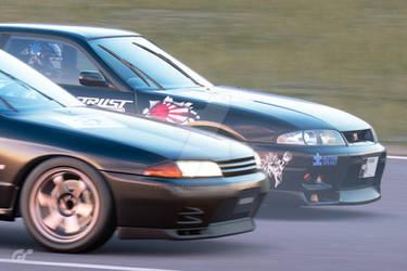 R33 vs R32 by NightmareRacer85