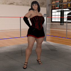 Teressa Delgado Pin up by NightmareRacer85