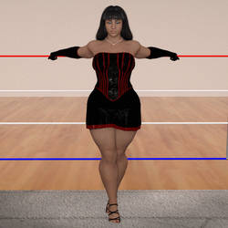 Teressa Delgado Pin up 2 by NightmareRacer85
