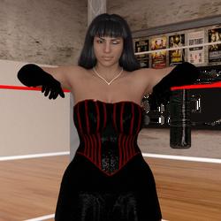 Teressa Delgado Pin up 3 by NightmareRacer85