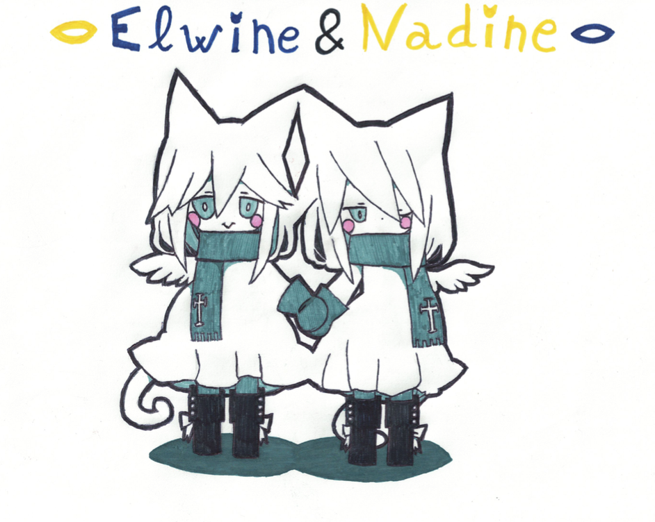 Elwine and Nadine by 1Andean