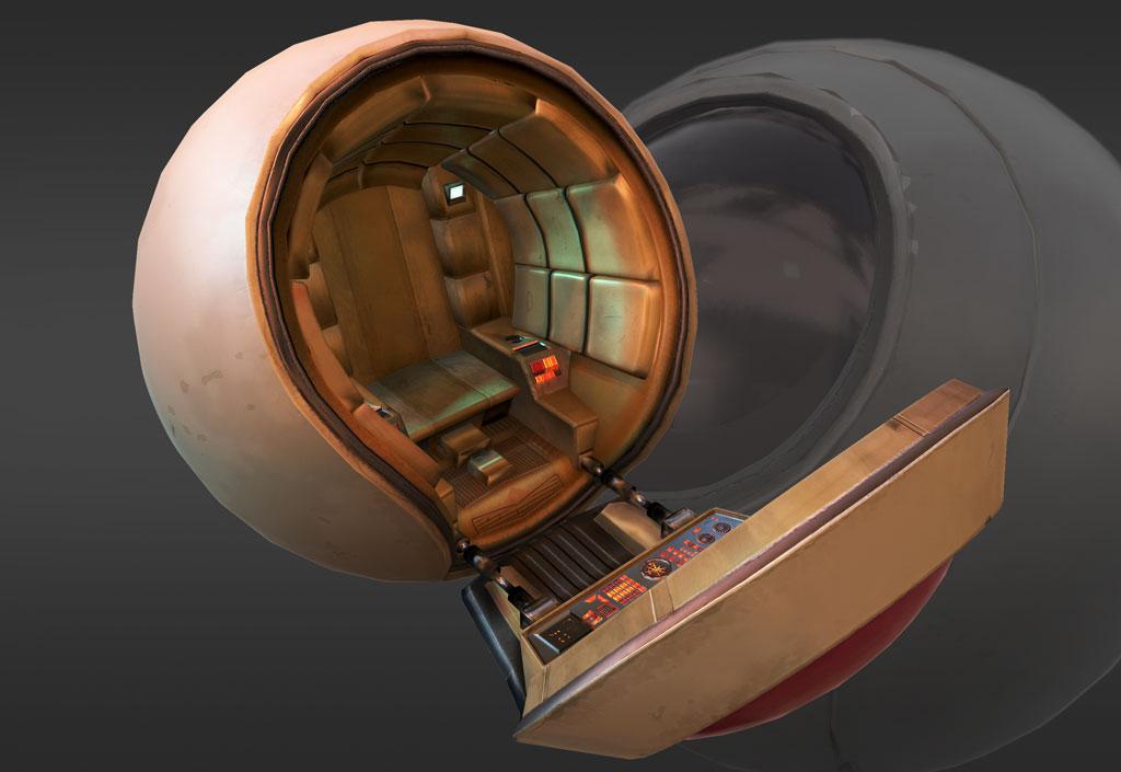 spacecraft pod - photo #22