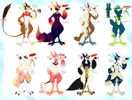Grem2 Adoptables (CLOSED) by MrGremble