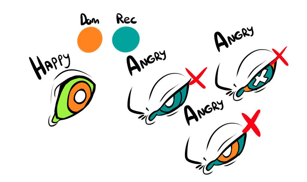 Incorrect Eye Colour by MrGremble