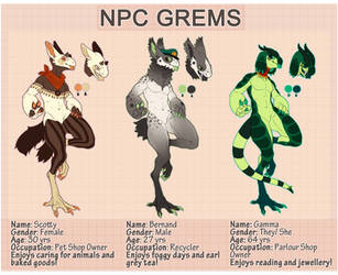 NPC Grems Updated (FREE TO DRAW) by MrGremble