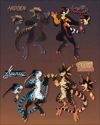 Lizard Bois (FFA AUCTION: CLOSED) by MrGremble