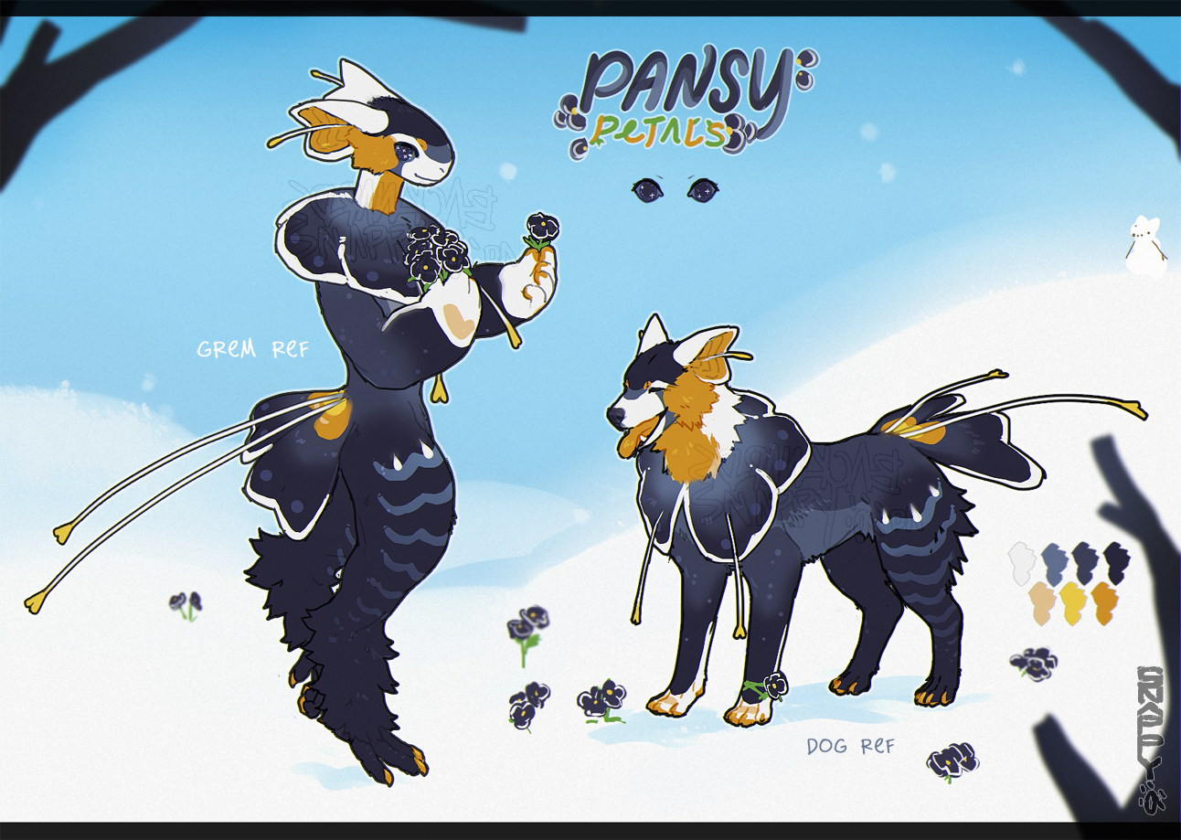 Pansy Petals Snowgrem FFA Flatsale (CLOSED)