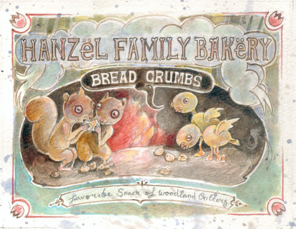 Bread Crumbs by miorats