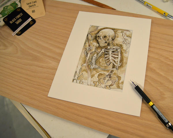 Tarot Card Death by miorats