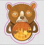 Waffle bear
