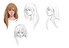 Lena Concept 7 by HailComic