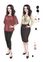 Ebony Clothing Concept by HailComic